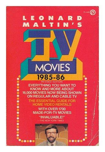 9780452256132: Leonard Maltin's TV Movies 1985-86