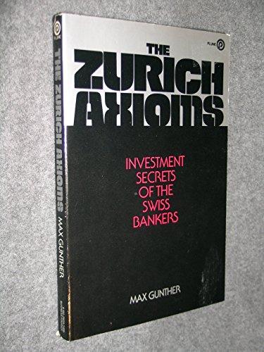 9780452256590: Gunther Max : Zurich Axioms (Plume)