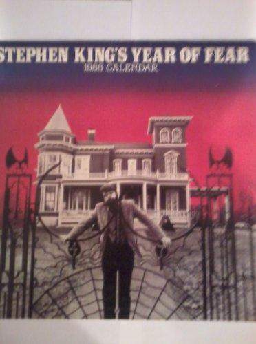 9780452257085: Stephen King Calendar 1986