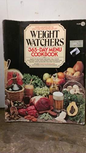 9780452257177: Weight Watchers : Weight Watchers 365-Day Menu Cookbook