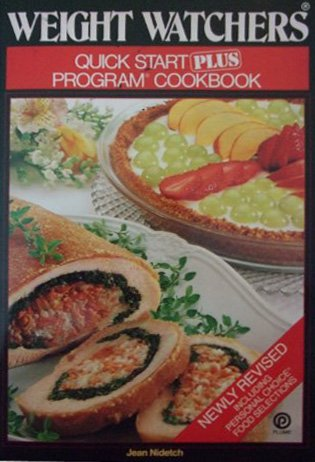 9780452258310: Weight Watchers Quick Start Plus Program Cookbook (Including Personal Choice Food Selections)