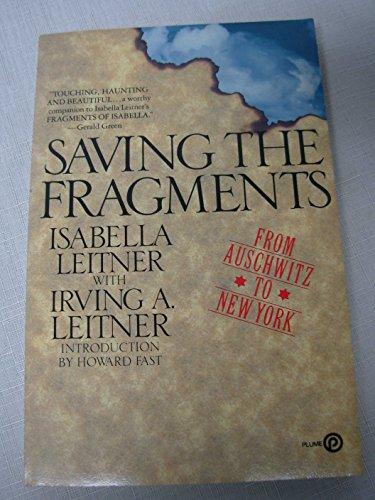 9780452258686: Saving the Fragments (Plume)