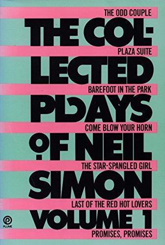 The Collected Plays of Neil Simon, Volume: Simon, Neil
