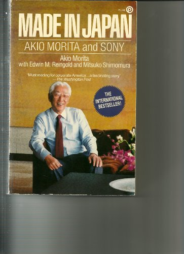 9780452259874: Morita Akio : Made in Japan: Akio Morita and Sony (Plume)