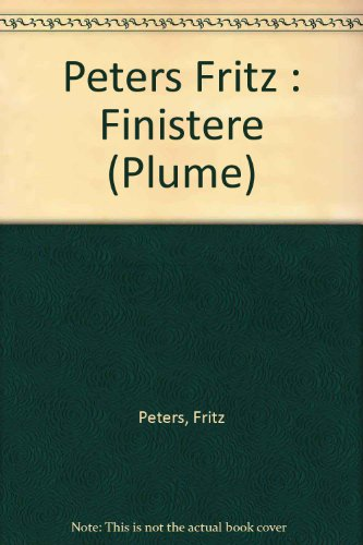 9780452260337: Finistere (Plume)