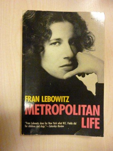 9780452260696: Metropolitan Life (Plume)