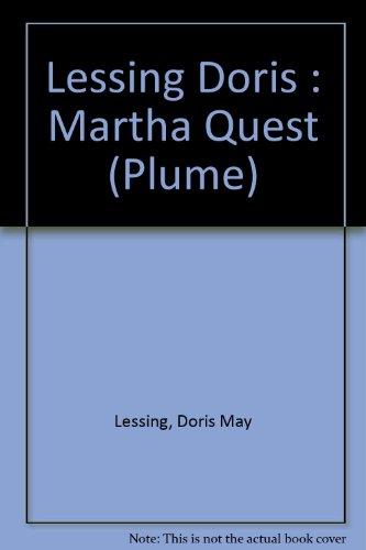 9780452261242: Lessing Doris : Martha Quest