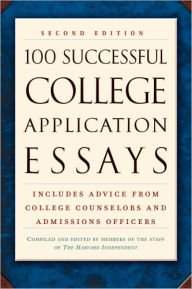 9780452261532: 100 Successful College Application Essays (Plume)