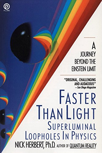 9780452263178: Faster Than Light: Superluminal Loopholes in Physics