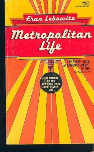 9780452263307: Metropolitan Life