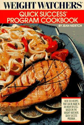 9780452264281: Weight Watchers Quick Success Program Cookbook