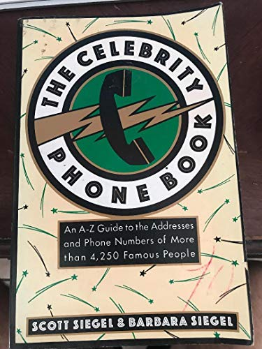9780452264403: The Celebrity Phone Book
