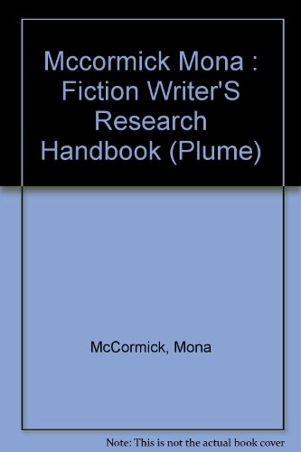 9780452264441: Fiction Writers Rese (Plume)