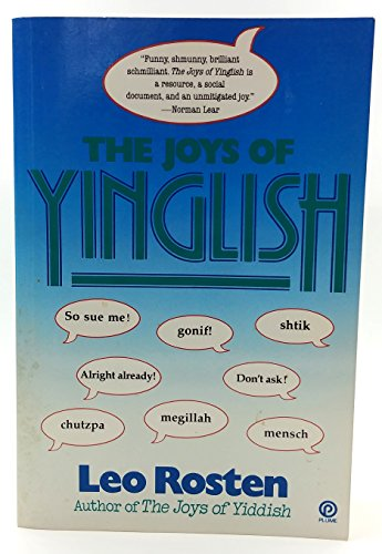 9780452265431: Rosten Leo : Joys of Yinglish (Plume)
