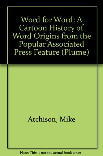 9780452266247: Word for Word (Plume)