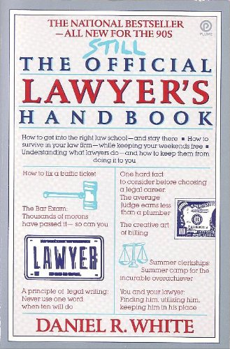9780452266940: Still the Official Lawyer's Handbook (Plume)