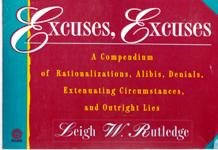 Excuses, Excuses! (Plume): Leigh W. Rutledge