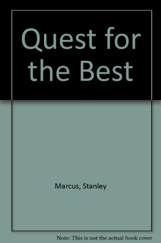 9780452271982: Quest for the Best