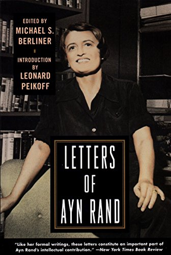 9780452274044: Letters of Ayn Rand