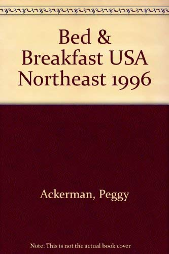 9780452275140: Bed and Breakfast USA 1996 northeast