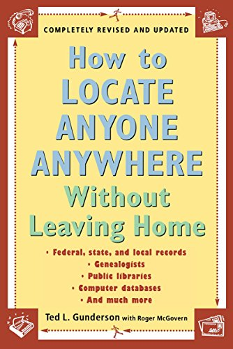 9780452277427: How to Locate Anyone Anywhere: Without Leaving Home