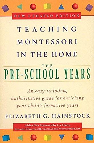 9780452279094: Teaching Montessori in the Home: Pre-School Years: The Pre-School Years