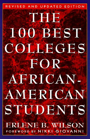 9780452279544: The 100 Best Colleges for African-American Students: Revised and Updated Edition