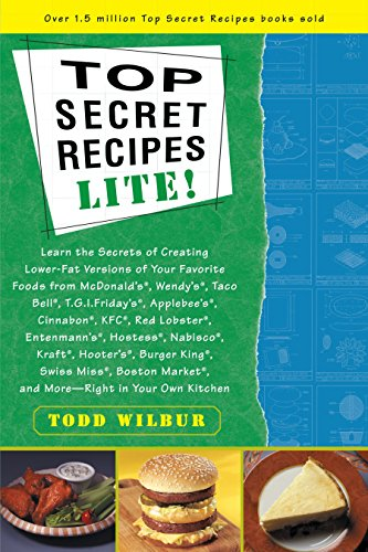 Top Secret Recipes Lite! (9780452280144) by Todd Wilbur