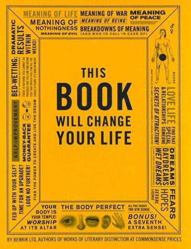 9780452284890: This Book Will Change Your Life