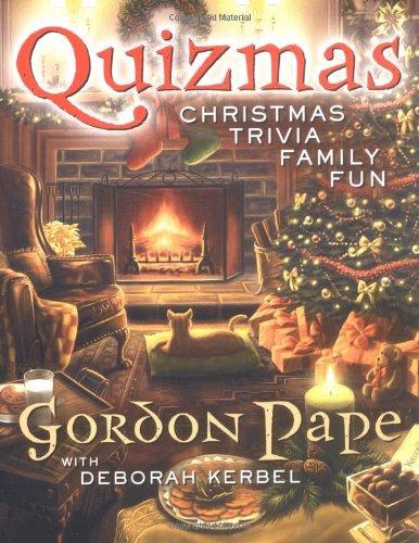 9780452287044: Quizmas: Christmas Trivia Family Fun