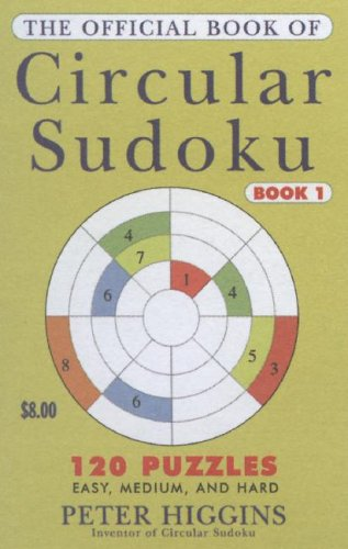 9780452287969: The Official Book of Circular Sudoku: Book 1