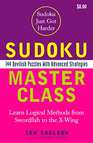 9780452287976: Sudoku Master Class: 144 Devilish Puzzles With Advanced Strategies