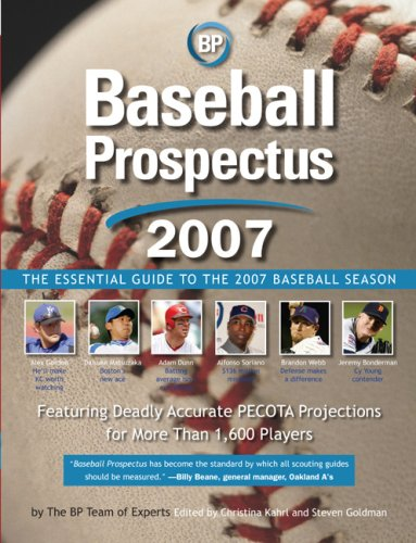9780452288256: Baseball Prospectus 2007: The Essential Guide to the 2007 Baseball Season