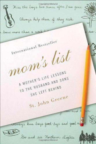 9780452299078: Mom's List: A Mother's Life Lessons to the Husband and Sons She Left Behind