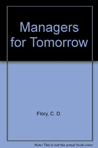 9780453000239: Managers for Tomorrow