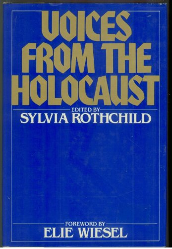 Voices from the Holocaust: Rothchild, Sylvia