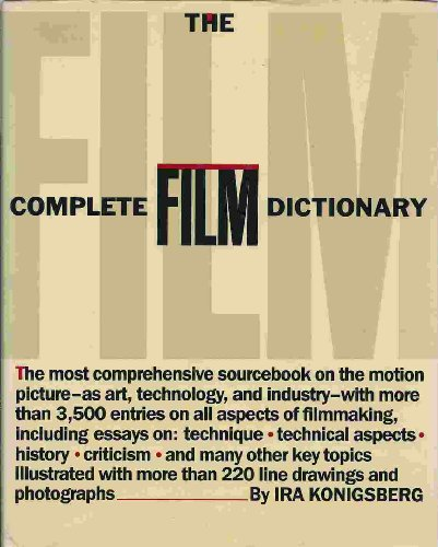9780453005647: The Complete Film Dictionary