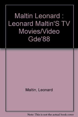 Leonard Maltin's TV Movies and Video Guide: Maltin, Leonard