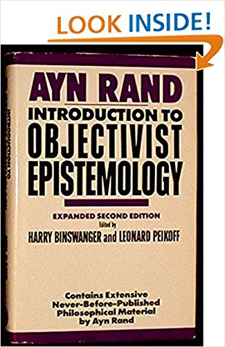 9780453007245: Rand Ayn : Intro. to Objectivist Epistemology(Hbk)