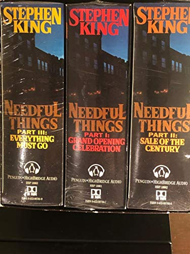 9780453007634: Needful Things (unabridged Audio)