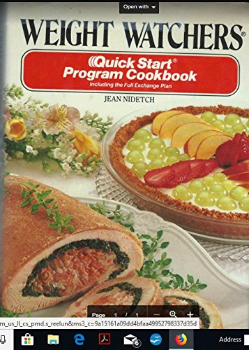 9780453010108: Weight Watchers Quick Start Program Cookbook