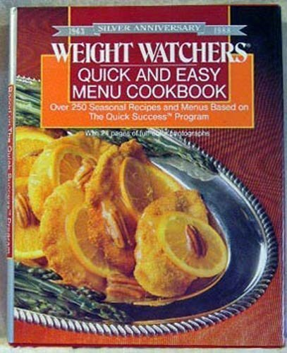 9780453010153: Weight Watchers' Quick and Easy Cookbook