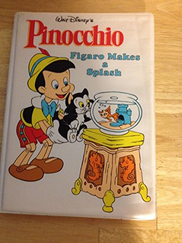 9780453030281: Walt Disney's Pinocchio: Figaro Makes a Splash / Bath Book