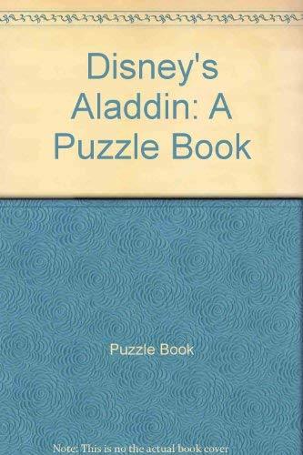 9780453030625: Disney's Aladdin: A Puzzle Book