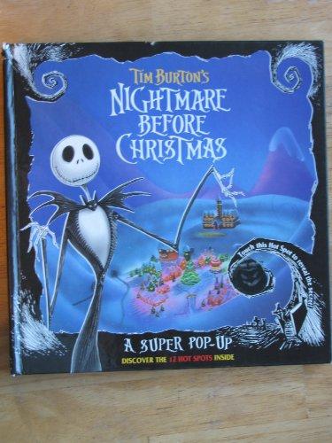 9780453031325: Tim Burton's Nightmare Before Christmas: A Super Pop-Up Book