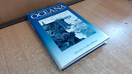 9780454007329: Oceana: The Tempestuous Voyage of J.A.Froude: Travellers' Tales of Early Australia and New Zealand