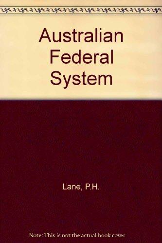 9780455164700: Australian Federal System