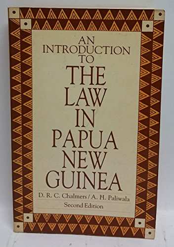 9780455203805: An Introduction to the Law in Papua New Guinea