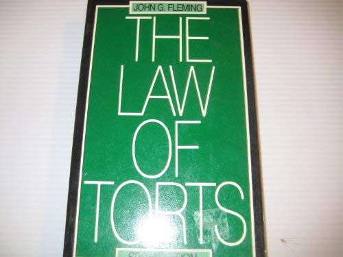 9780455205489: The Law of Torts