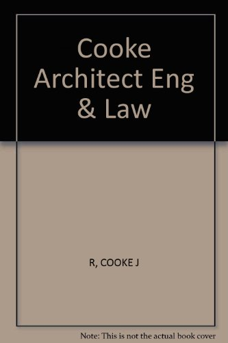 9780455209463: Architects, Engineers & the Law: Commentary & Materials (LBC casebooks)